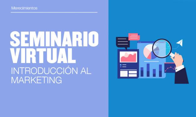 Seminario virtual: Introducción al Marketing